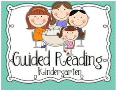 Little Minds at Work: Guided Reading in Kindergarten {freebies}