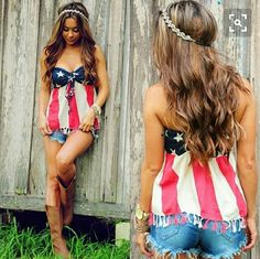 Denim & supply Ralph Lauren American flag tank American flag halter/tube tank Ralph Lauren Tops