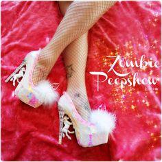 Unicorn Pegasus Crystal Fur Pumps Heels by kaylastojek on Etsy Dream Shoes, Crazy Shoes, New Shoes, Weird Shoes, Unique Shoes, Cute Shoes, Me Too Shoes, Funny Shoes, Divas