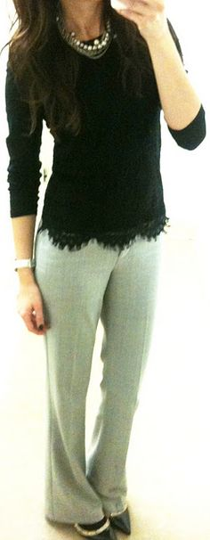 Love these pants! I have Capri's in this fabric but I'm gonna need some pants like this for the winter