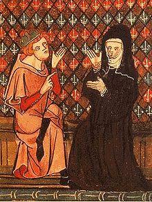 Eloisa era una dama francesa, famosa por ser amante y luego esposa de Pedro Abelardo. Era discípula de Fulberto, canónigo tío suyo, que le puso a Pedro Abelardo como maestro de filosofía. Enamorados, huyeron a Bretaña, donde tuvieron un hijo, Pedro Astrolabio. Durante un tiempo se escondió Eloísa del furor de Fulberto en el monasterio de Argenteuil, donde recibió la esmerada educación que asombró luego a sus contemporáneos. Apresados, Pedro Abelardo fue castrado por orden de Fulberto.