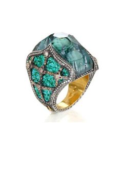 An intricate and gorgeous ring from the Sevan Bicakci 2013 collection