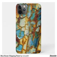 Blue Rusty Chipping Paint Case-Mate iPhone Case Ipod Touch Cases, Iphone 8 Cases, New Iphone, Apple Iphone, Unique Iphone Cases, Plastic Case, Keep It Cleaner, Smartphone, Ipad