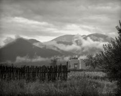 Mist in Arroyo Seco, NM (photography by Steve Muncy)