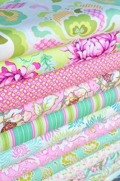 Heather Bailey's fabric is fabulous!