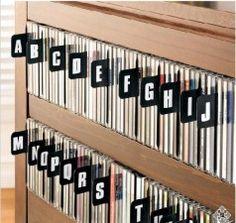 52 Ideas Dvd Storage Ideas Cd Holder For 2019 Ikea Dvd Storage, Dvd Storage Tower, Dvd Storage Cabinet, Dvd Storage Case, Movie Storage, Vinyl Storage, Storage Boxes, Storage Ideas, Cd Diy