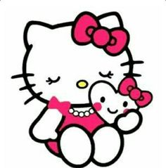 best free valentine s day clip art pinterest hello kitty vector rh pinterest co uk free hello kitty clip art images