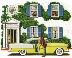 How to look your best when everyone is looking… 1955 Chevrolet