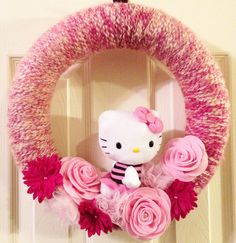 Hello Kitty pink and red