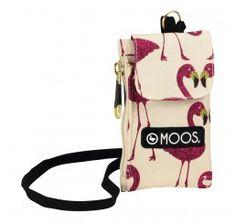 Monedero & Portamóvil Flamingo para colgar