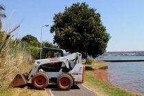 Desobstrução da orla sul do Lago Paranoá chega ao terceiro dia - http://noticiasembrasilia.com.br/noticias-distrito-federal-cidade-brasilia/2015/08/26/desobstrucao-da-orla-sul-do-lago-paranoa-chega-ao-terceiro-dia/