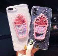 Lack fashion bling glitter phone cases for iphone 6 case fashion diy cartoo Smartphone Iphone, Iphone Phone Cases, Phone Covers, Case For Iphone, Unicorn Phone Case, Kawaii Phone Case, Cute Cases, Cute Phone Cases, Disney Cases