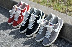 the latest e157e 2f732 Nike Blazer Low VNTG. I d love to have all three of these basic