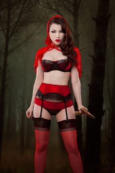cb3fad2c492 Red Sirena. Kiss Me DeadlyElegant LingerieRetro ...