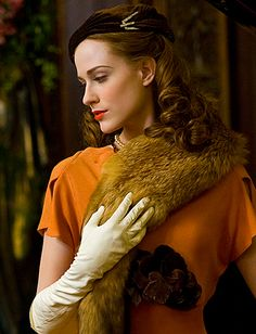 "Evan Rachel Wood in ""Mildred Pierce"" (2011) Costume Design by Ann Roth"