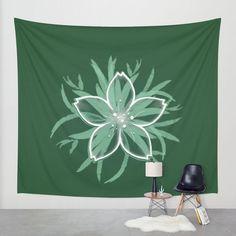 María Moreno   tsū #wall #tapestry #home #decor #bedroom #livingroom #interior #outdoor #mariamoreno http://society6.com/product/happy-flower_tapestry#55=414