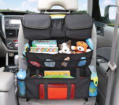 On the Go Back Seat Car Organizer
