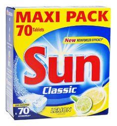 Sun Konetiskitabletti Classic Lemon 70 kpl - TokNet.fi -verkkokauppa 7.45€