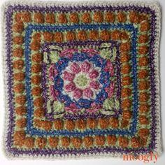 Transcendent Crochet a Solid Granny Square Ideas. Inconceivable Crochet a Solid Granny Square Ideas. Crochet Mandala Pattern, Crochet Blocks, Granny Square Crochet Pattern, Crochet Squares, Crochet Patterns, Granny Squares, Crochet Granny, Crochet Scarf Easy, Crochet Baby Beanie