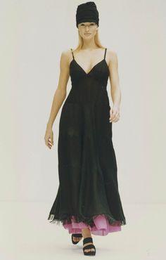 Karen Mulder for Prada 1993
