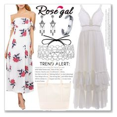 """Chiffon Dress -28"" by ane-twist ❤ liked on Polyvore"