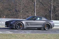 Erlkönig Mercedes SLS Black Series: Supersportler noch schärfer