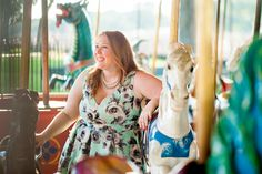 We're Inspired By #GwynnieBee member Nancy in the @citychiconline  Quilted Roses Dress