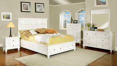 CM7690WH-Q- 5Pc Queen Bedroom Set