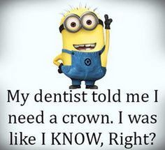 Funny Minion Pictures Below are some very funny minions memes, and funny quotes, i hope you will enjoy them at your best . and why not whatever minions do they always look funny and stupid . So make sure to share the best minions with your friends . Funny Minion Pictures, Funny Minion Memes, Minions Quotes, Funny Jokes, Hilarious, Minion Humor, Minion Sayings, Cartoon Quotes, Funniest Memes