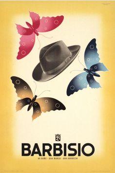 Poster by Studio Mingozzi Bologna, 1946, Barbisio.