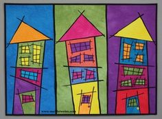 "www.suebleiweiss.com ""tutti fruitti triple deckers"" by Sue Bleiweiss. Hand dyed cotton, 25""x35"""