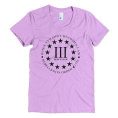 Resist Tyranny Women's T-Shirt