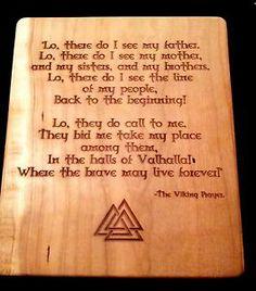Viking asatru Prayer | eBay