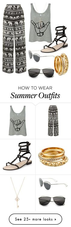 """""""Untitled #162"""" by castiel-mishaminions on Polyvore featuring Christian Dior, Motel, Rebecca Minkoff and Aéropostale"""