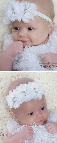 41 Best Baby Headbands Flowers images  a4d88c9d59e3