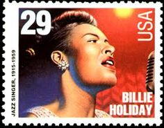 5 Unused Billie Holiday Postage Stamps // Jazz Singer Songwriter // Jazz Musician Postage Stamps for Mailing Billie Holiday, Vaughan, Commemorative Stamps, Black History Facts, Jazz Musicians, Vintage Stamps, Vintage Tools, Thing 1, Tampons