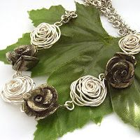 Handmade wire roses (tutorial)