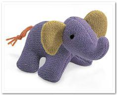 Stuffed Toy Elephant 2 - STUFFED TOY ANIMALS
