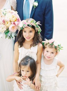 cutest flower girls    Photography By / http://claryphoto.com,Wedding Planning   Design By / http://simplyandforever.com