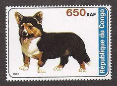 Corgi stamp, Republic of Congo