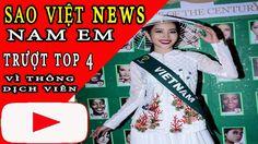 Nam Em- trượt top 4 Miss Earth 2016 vì phiên dịch-Tin Sao Việt