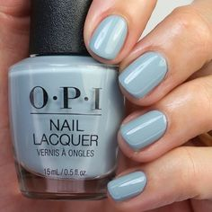 "Laurie su Instagram: ""{Destined to Be A Legend} from the ✨new✨ @opi Hollywood Collection. I have a review, live swatch and comparison video of the entire…"" Grey Nail Polish, Gray Nails, Opi Collections, Opi Nails, Spring Nails, Nail Colors, Swatch, Hollywood, Live"