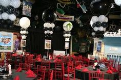 red carpet party decorations