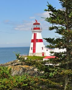 Maine Lighthouses and Beyond: East Quoddy Head Lighthouse  #places