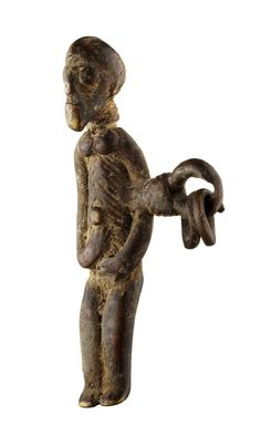 Africa | Pendant from the Lobi people of Burkina Faso | Bronze alloy | 240 CHF ~ sold (Dec '11)