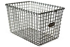 Metal Locker Basket-i remember these from Gym class!!!!