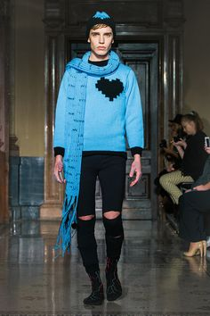 STINAK MENSWEAR FASHION SHOW BLUE