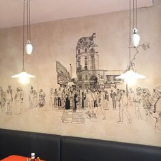Urban Sketching, Chandelier, Ceiling Lights, Sketches, Instagram Posts, Home Decor, Candelabra, Draw, Chandeliers