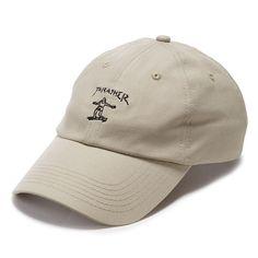 트래셔 신상 귀엽운 스케이트보딩 자수 볼캡!THRASHER 트래셔 [THRASHER] Gonz Old Timer Hat - Tan