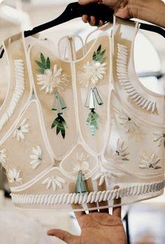 Delpozo by Ann Street Studio Fashion Details, Look Fashion, Indian Fashion, Womens Fashion, Fashion Design, Fashion Trends, Couture Details, Ann Street Studio, Estilo Lolita